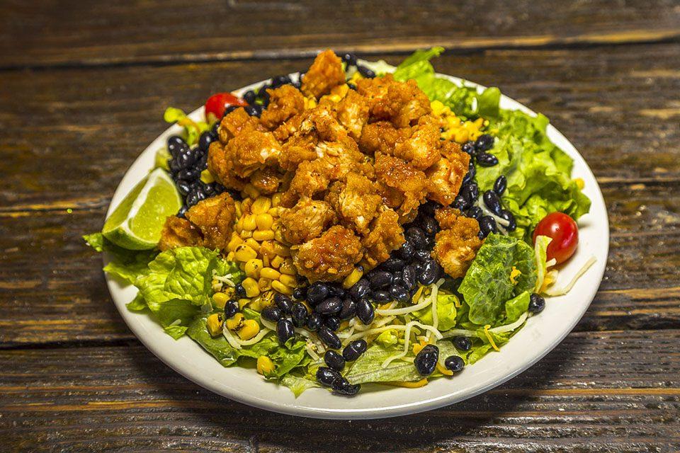 BBQ Chipotle Chicken Salad